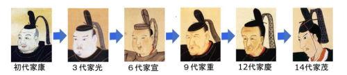徳川将軍_顔500